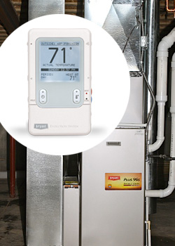 Two-zone Bryant heating and cooling system